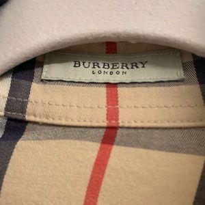 Burberry Tops - Burberry nova check women's button down size M